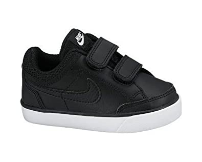 Nike Capri 3 Leather (TDV) 579949 014 Black / Black-White Baby (