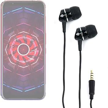 DURAGADGET Auriculares para Smartphone Nubia Red Magic 3, Doogee ...