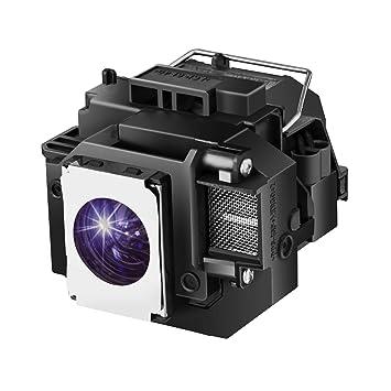 Loutoc V13H010L54 / V13H010L58 Lámpara Proyector para Epson ELPLP54 / ELPLP58 Home Cinema 705HD S7 W7 S8 + EX31 EX51 EX71 EX3200 EX5200 EX7200