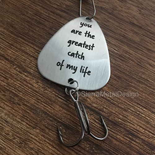 You Are My Greatest Catch Husband Fishing Lure Mens Fishing Lure Greatest Catch Catch Of My Life Fishing Lure For Him Men Gift Lure