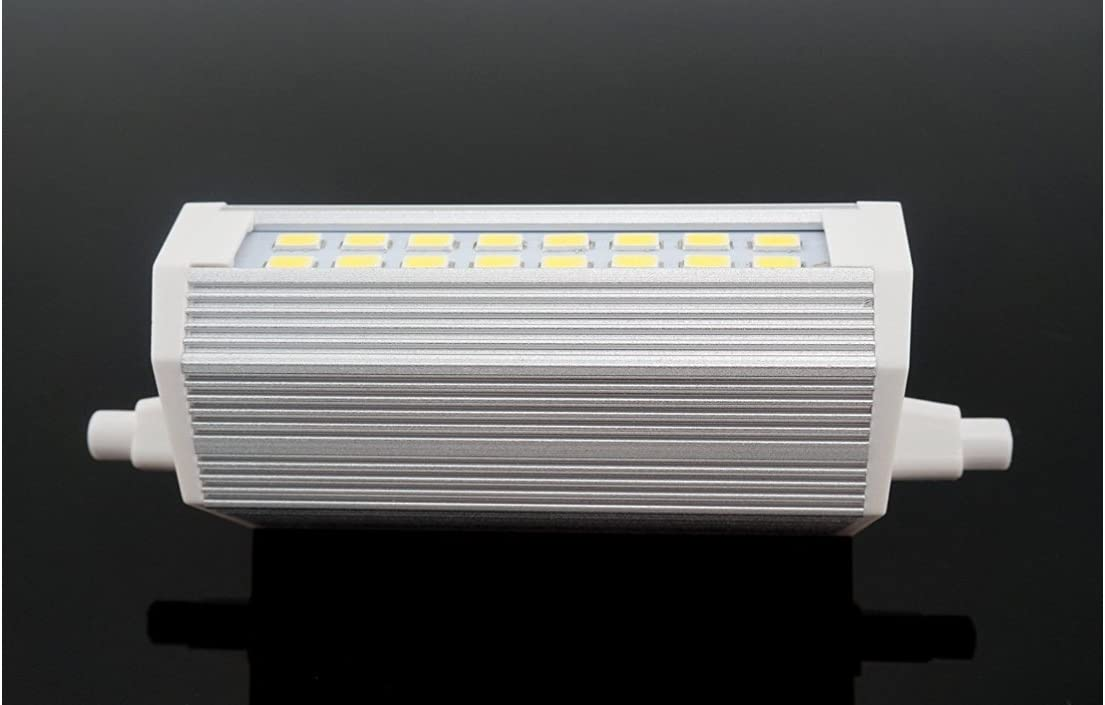 R7S LED 118mm 30W LED avec 3000 lumens 4500 K lumi/ère neutre avec lampe /à /économie d/énergie remplace lampoule h/álogena de 300 W longue dur/ée de vie