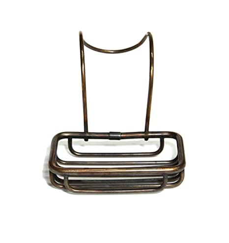 Soap Sponge Holder Dish for Claw Foot Bath Tub Antique Style Bronze Finish Home & Garden Bathroom Supplies & Accessories