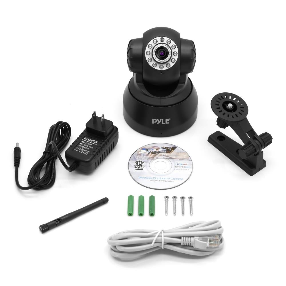 Indoor Wireless Security IP Camera - Home WiFi Remote Video Monitor w/Motion Detection and Night Vision - PTZ Pan Tilt Network Surveillance, Voice Mic Audio for Mobile, Windows & Mac - Pyle PIPCAM5 by Pyle (Image #7)