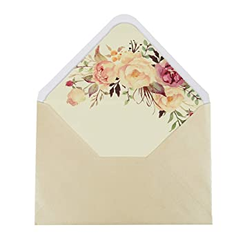 Amazon.com: Doris Home A-7 - Sobres para invitaciones de ...