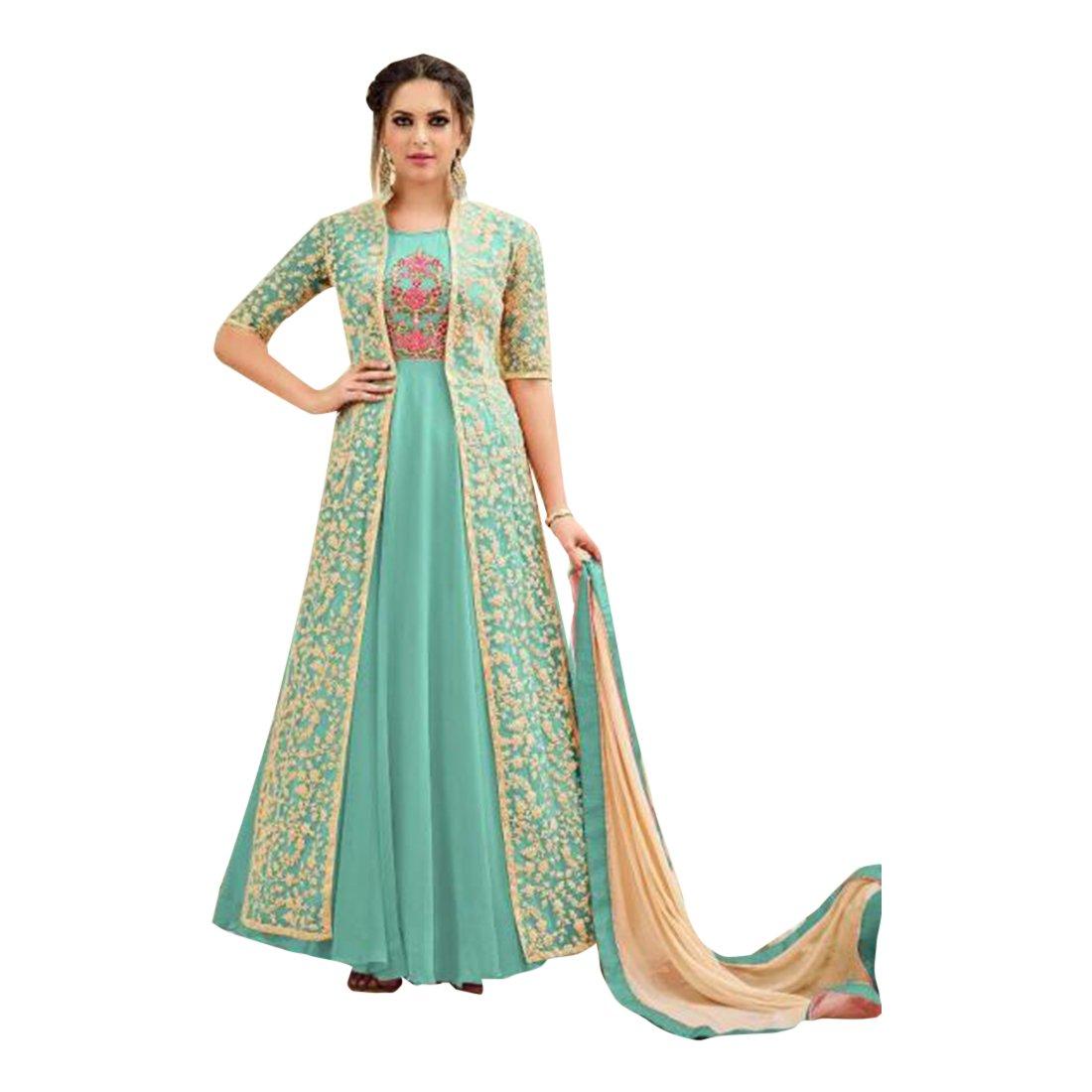 Amazon.com: Eid Bollywood ceremonia de boda Longitud Hasta ...