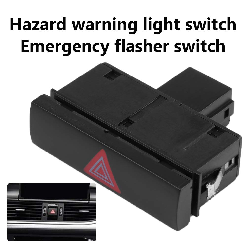 Fydun Interruptor de Luz de Advertencia de Peligro Interruptor de Luces Emergencia