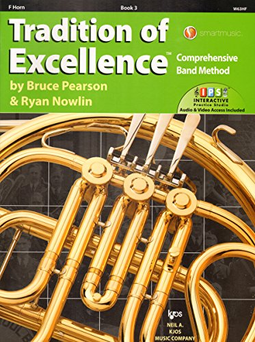 W63HF - Tradition of Excellence Book 3 - French Horn