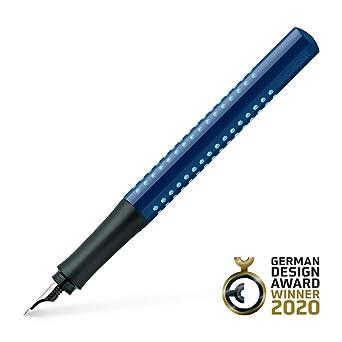 FABER-CASTELL Füllhalter GRIP 2010 blau-hellblau M