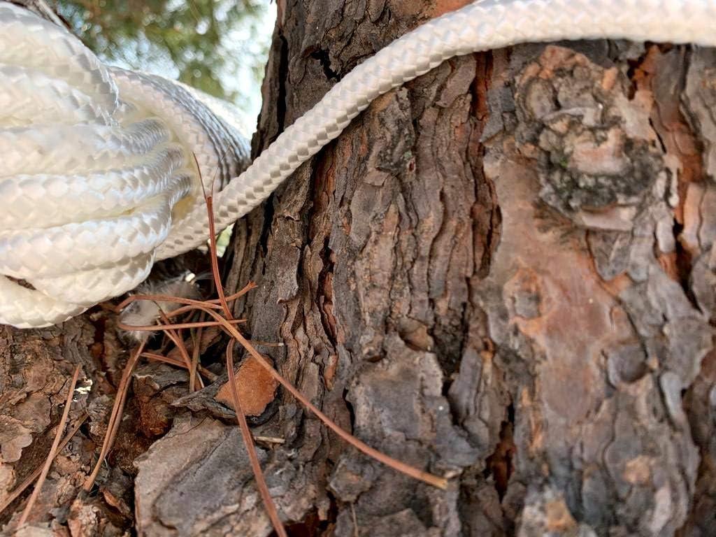 Corda da da Arrampicata in Fibra di Polipropilene Corda Paracadute Intrecciata di Montagna di Sopravvivenza dor