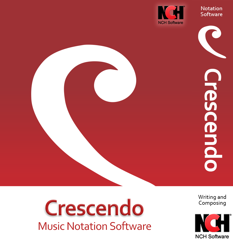 Crescendo Music Notation Software for PC for Music Score Writing and Composing [Download] ()