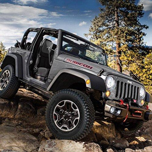 Doors off Mirrors 4x4 Doorless mirrors for jeep wrangler Side Mirrors for Jeep Qucik Release Mirrors for Jeep TJ JK-JKU CJ JL【 Textured Black】 2Pcs