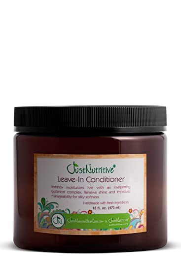 Buy Just Natural Hair Care Leave In Conditioner 16 Ounces Online At Low Prices In India Amazon In
