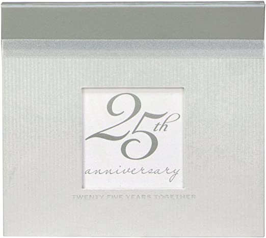 20 PVC-Free Pages With Acid /& Lignin-Free Inserts Gibson Deluxe Photo Book Holds 40 photos C.R Measures 5 x 7 Silver Anniversary