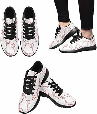 INTERESTPRINT - Zapatillas de Running para Mujer, diseño de ...