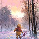 """Snowy Path"" Limited edition gallery wrapped canvas by Rodel Gonzalez from the Disney Treasures collection; with"