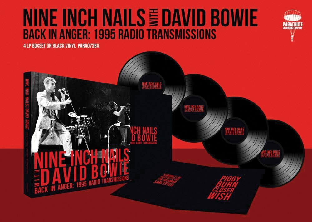 DAVID NINE INCH NAILS / BOWIE - Back In Anger: 1995 Radio ...