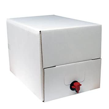 20 litros dispensador de vino recargable/Bolsa de una caja de regalo para carbonatar Wines: Amazon.es: Hogar