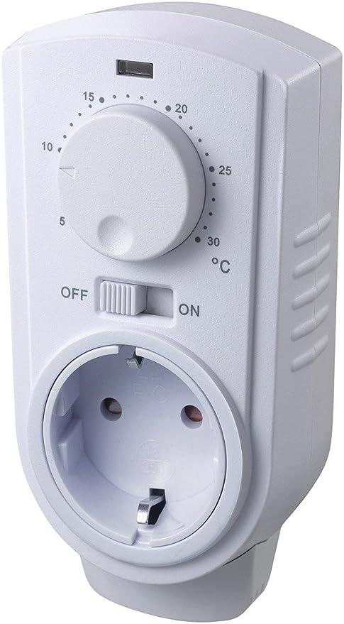 30//°C Prises Thermostat de de St 35/Ana 3500/W 230/V max 5 en//voiture Analogique manuelle//de la temp/érature