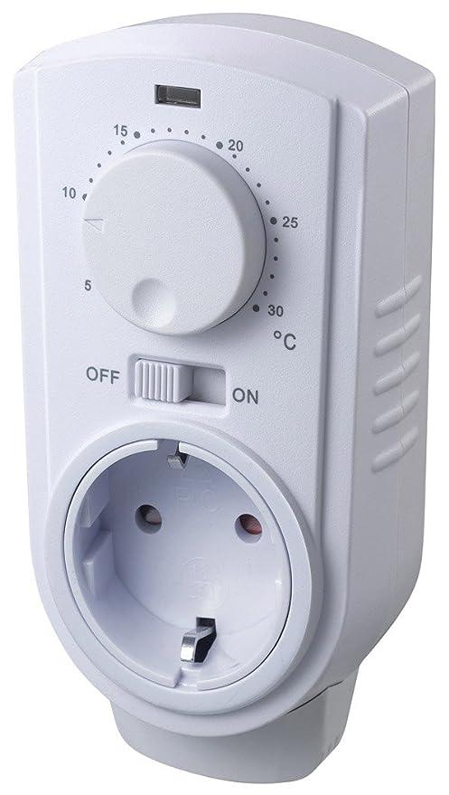 Chilitec Steckdosen Thermostat 5 30c Analog Ein Aus Auto Fur