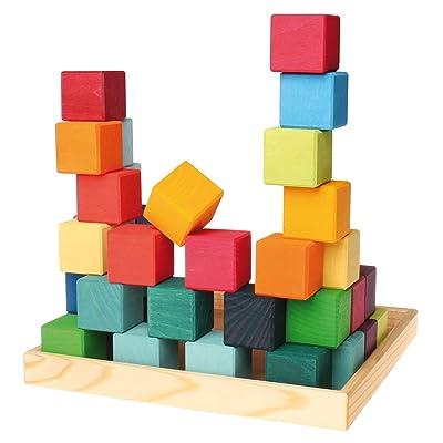 De Grimm Cuadrado 36 Cubo: Juguetes y juegos
