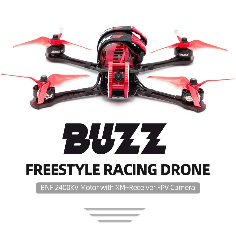 Leslaur EMAX Buzz Freestyle 5.8G 245 mm FPV RC Racing Drone ...