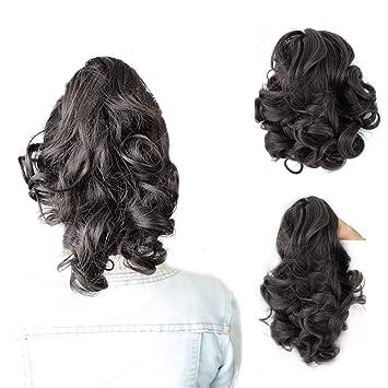 Elegant Beautiful Black Medium Acrylic Hair Claw Clip