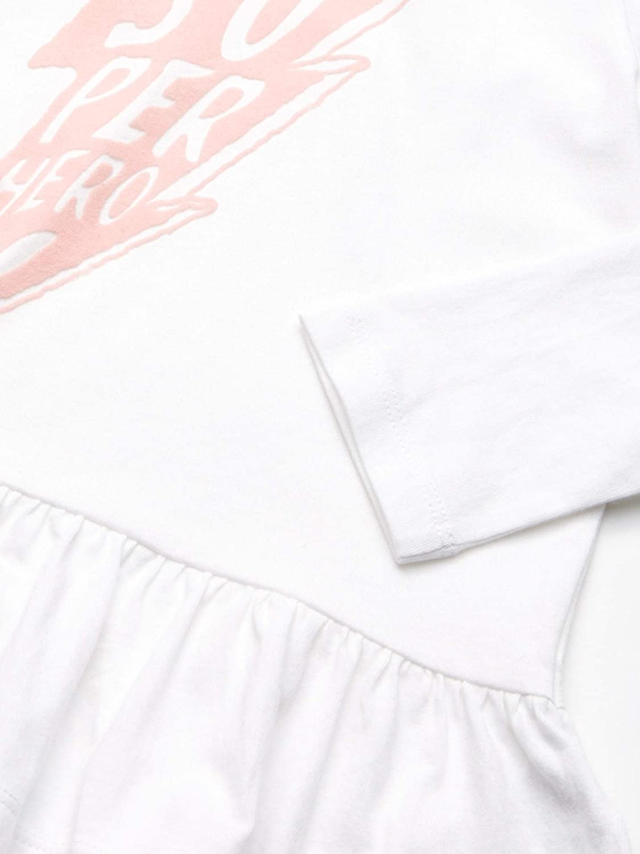 Spotted Zebra T-Shirt a Maniche Lunghe Bambina Pacco da 2