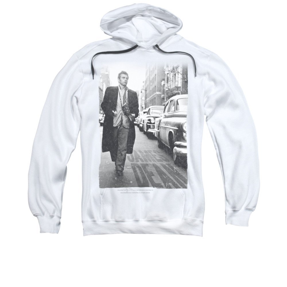 2Bhip James dean hollywood-ikone vintage-dekan auf der straße hoodie für Herren