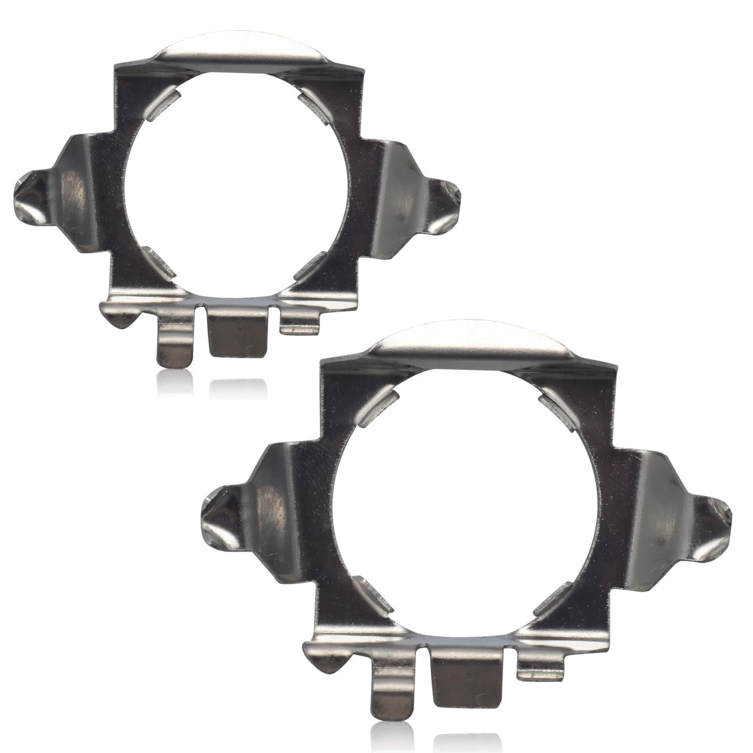 2 Pieces Win Power H7 LED Bulb Base Clips Adapter Holder Support