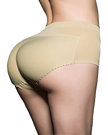 Image Unavailable. Image not available for. Color  DODOING Women Abundant Buttocks  Pants Lady Push Up Middle Waist Butt Hip up Padded ... 703cb8d33