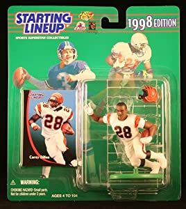 COREY DILLON / CINCINNATI BENGALS 1998 NFL Starting Lineup Action Figure & Exclusive NFL Collector Trading Card