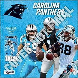 sale retailer 732ec c2e06 Carolina Panthers 2019 Calendar: Inc. Lang Companies ...