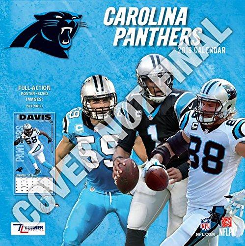 Carolina Panthers 2019 Calendar