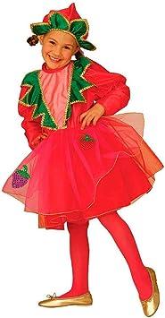 NET TOYS Disfraz Infantil de Fresa con Capa y tutú Fruta Traje de ...