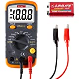 ELIKE Digital Capacitor Tester,0.1pF to 20mF High Precision Capacitance Meter with LCD Display,Data Hold, Back Light…