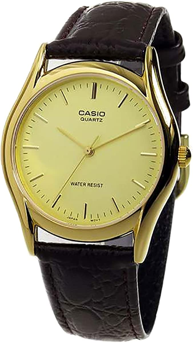 Casio Brown Leather Men s watch MTP1094Q-9A