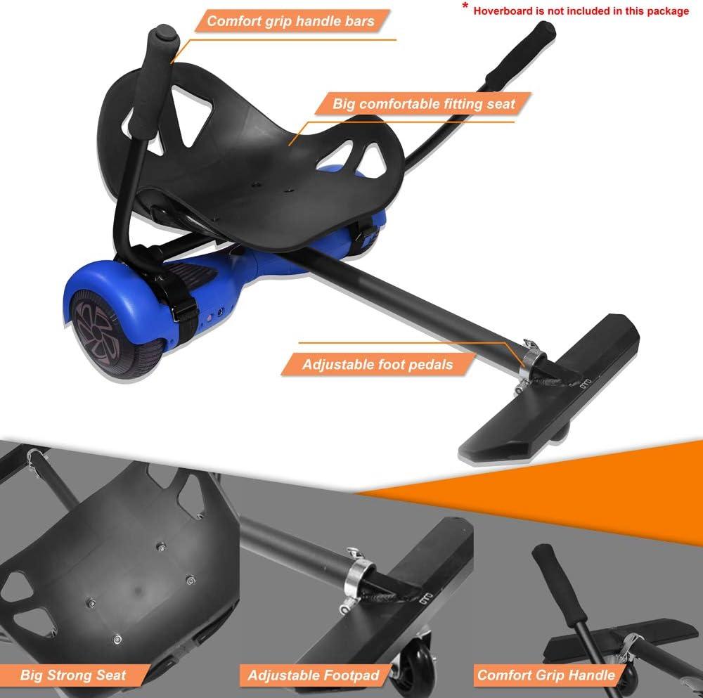 Amazon.com: Hover Kart - Soporte de asiento para patinete de ...