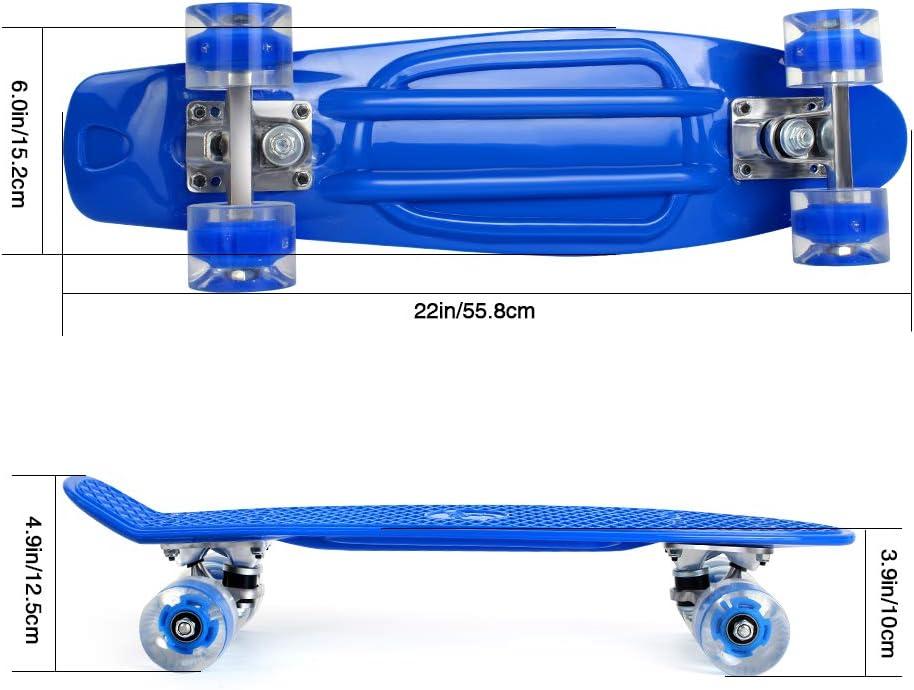 BELEEV Skateboard Complete Mini Cruiser - 4