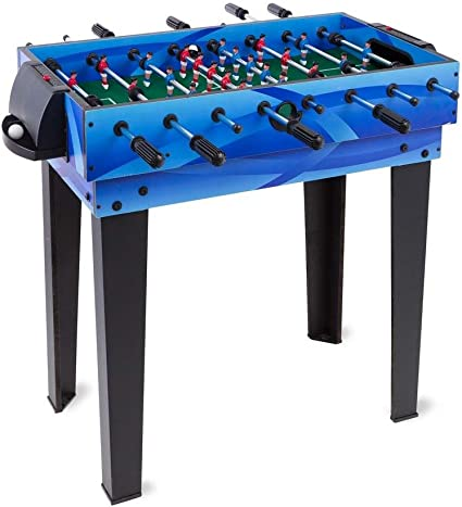 Ping Pong and Hockey Games Foosball for Kids and Family Indoor Game Rooms 31 L x 18.25 W x 31.5 H HearthSong Combination 4-in-1 Multi Game Table with Billiards