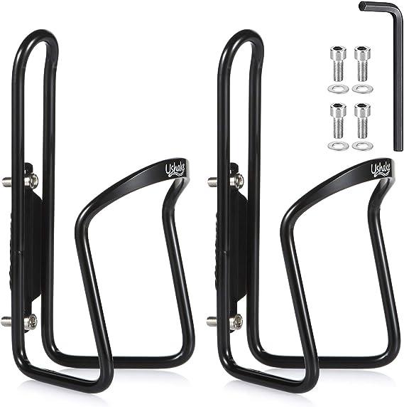 Pack of 2 Pcs 5x12mm CNC Aluminum Alloy Bike Bicycle Water Bottle Cage Bolt