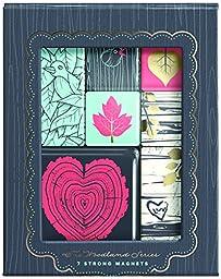 Gift Trenz Franklin Mill Woodland Series, Magnet Set (3217)