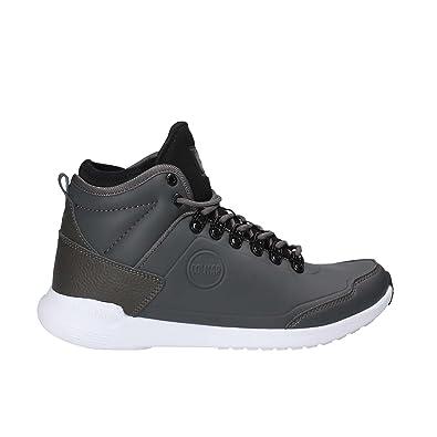 Colmar Scarpe Sneaker Nero Ragazzo Ragazza Durden Laquer Y45 UKO0K4a