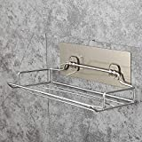 VHLL Stainless Steel Wall Mounted Toilet Paper Holder Home Bathroom Kitchen Paper Tissue Box Holder Hanger Bathroom Storage Rack