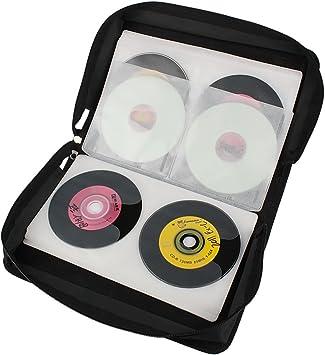 Andux Zone Estuche Porta CD para 128 CD/DVD/BLU-Rays GPT-01: Amazon.es: Electrónica