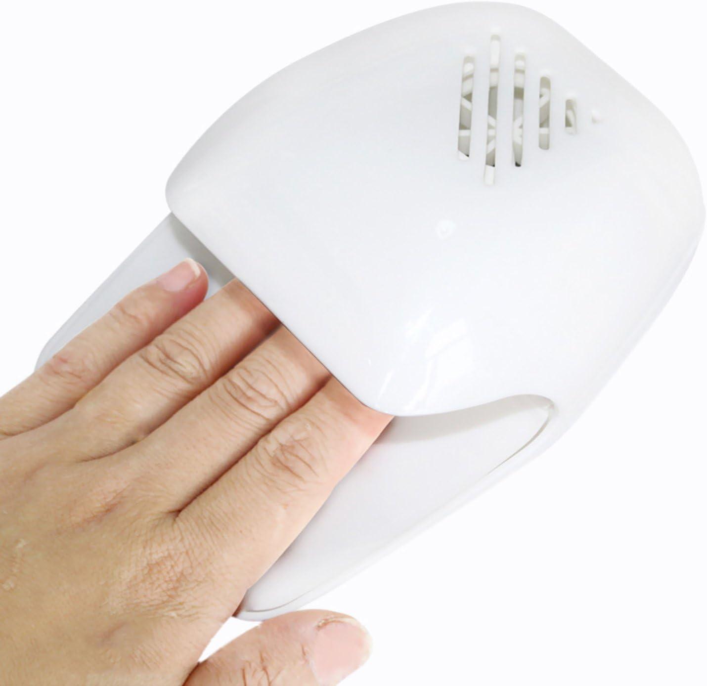 Sasairy Mini Secador de Uñas Dedo Toe polaco rápido al aire ...