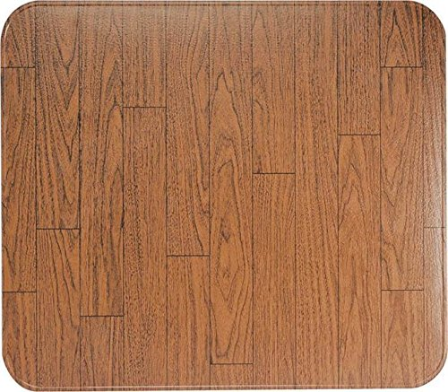 New Hy-c 36'' X 36'' Walnut Woodgrain Ul Listed Type 2 Stove Board Mat 4030482 by Hy-C