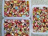 ZAMTAC Wholesale Mix Cute Food, 1000pcs/lot, Resin Cabochon for Phone Deco, DIY,