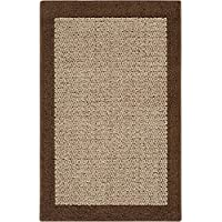 Mainstays Faux Sisal Runner Rug, 2 x 6, Brown