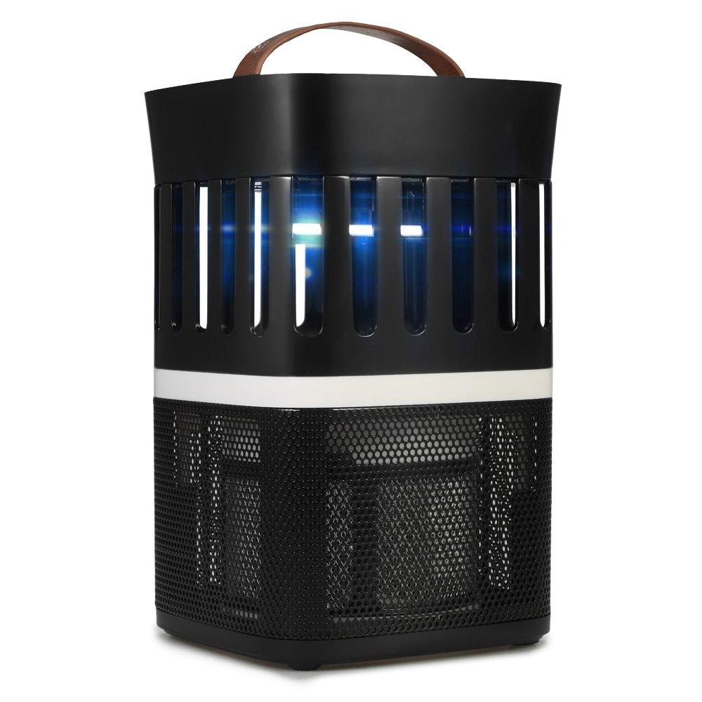 JKKL-C Moskito-Lampe, intelligentes Licht Stummschaltung Moskito-Lampe UV-Lampe USB-Stromversorgung, ungiftig Hohe Effizienz Indoor-Moskito-Lampe,schwarz