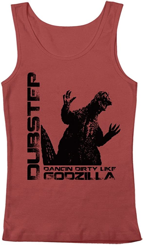 GEEK TEEZ Dubstep Godzilla Men's Tank Top